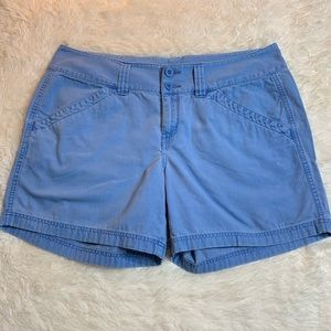 North Face Women's Blue 4 Pocket Shorts Size 16